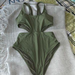 Aerie One-Piece Swimsuit, SZ: L